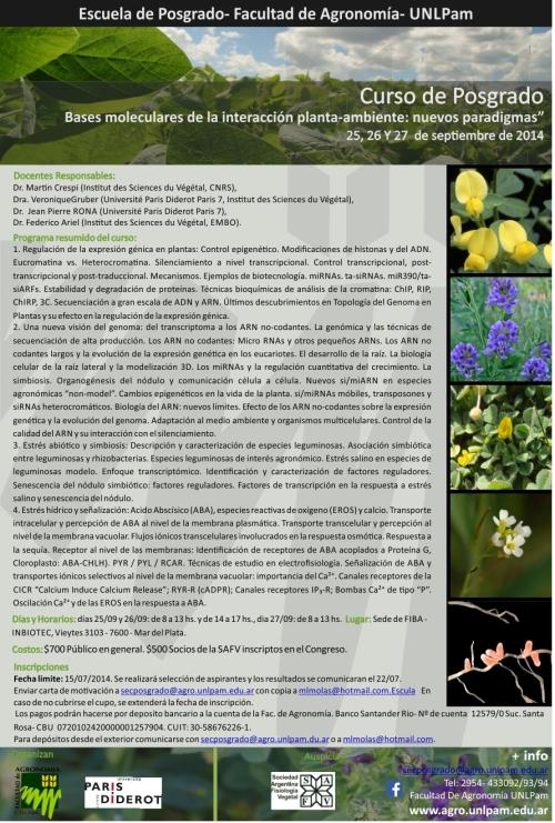 Curso Posgrado Planta-Ambiente