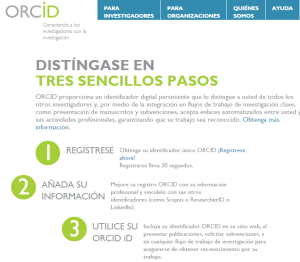 ORCID Registration