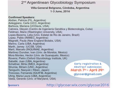 2nd Argentinean Glycobiology Symposium