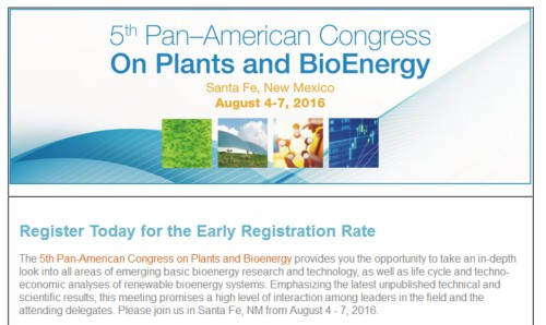 Congress Bioenergy