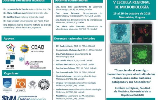 Escuela Microbiología